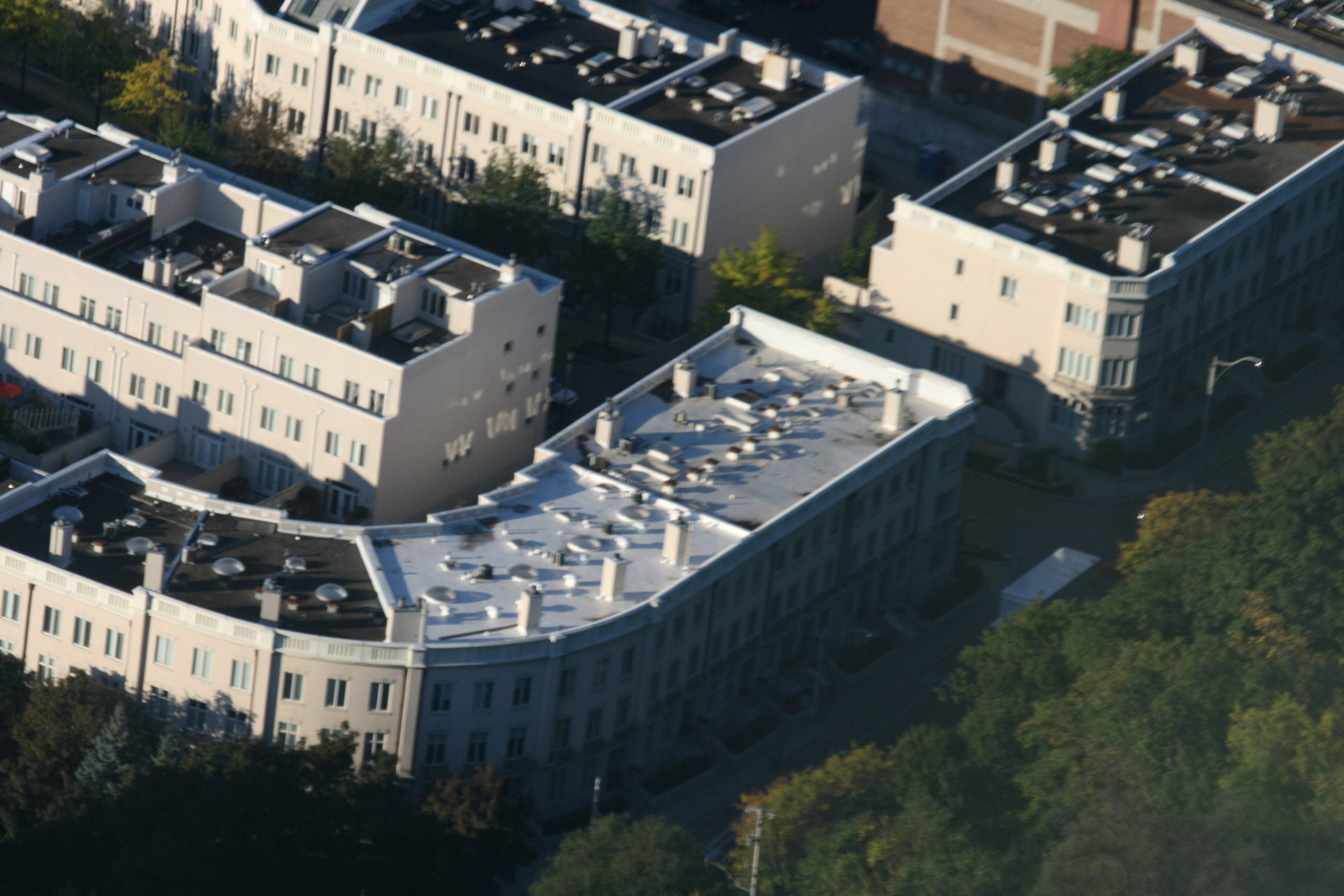 Casa Loma Flat Roof top